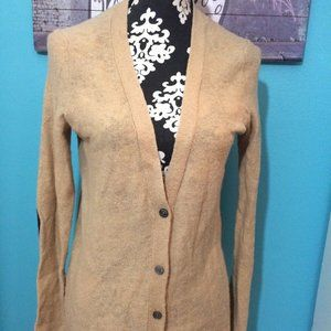 Gap Designed & Crafted Brown Button Front Cardigan